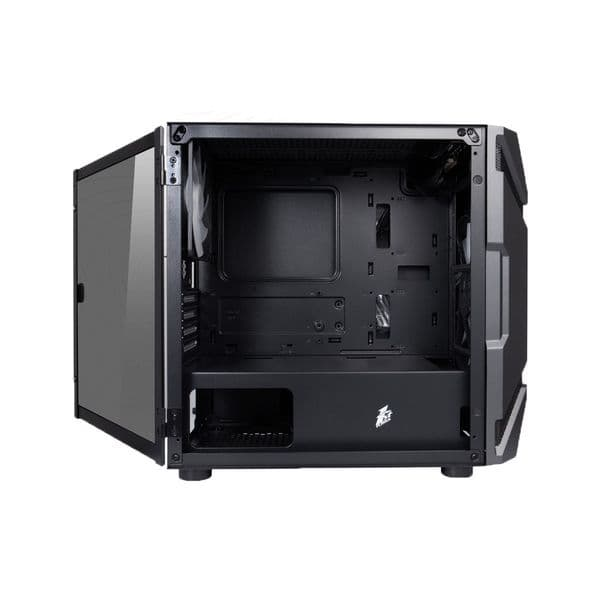 1st Player DK D3-A Black Micro ATX Case with RGB Fans